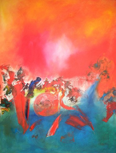 Mardi gras | Hubert König - Berliner Künstler World Class Artist