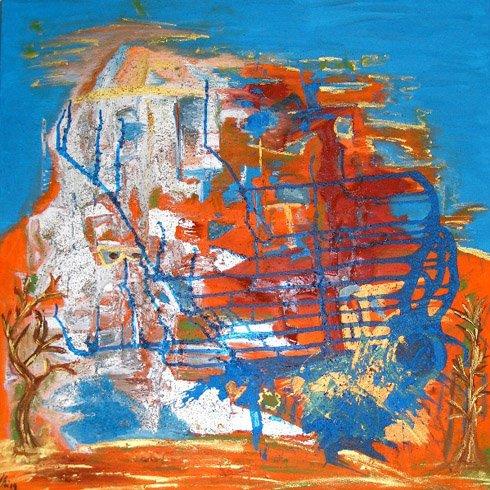 Am Aralsee   Hubert König - Berliner Künstler World Class Artist