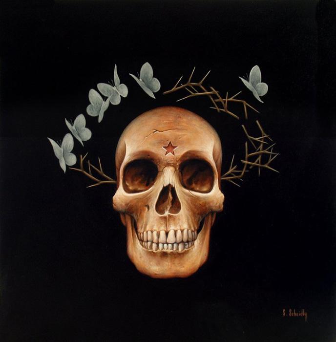 Scott Scheidly - Halo Skull World Class Artist