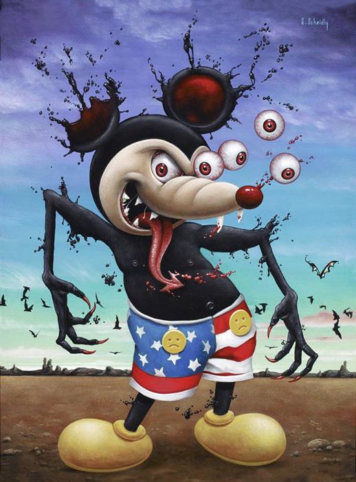 Scott Scheidly - Mean Mouse World Class Artist