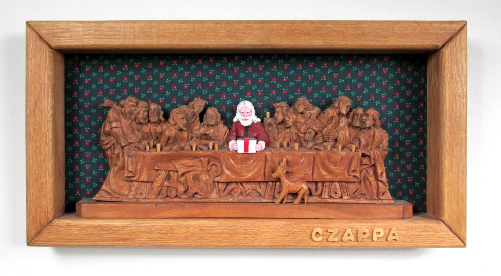 Found Objects Artist Bill Czappa  World Class Artist