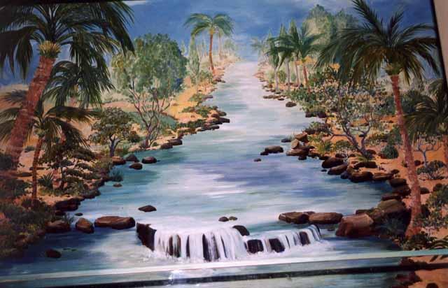 River Jordan Mural