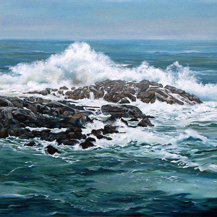 Cape Neddick Seascape