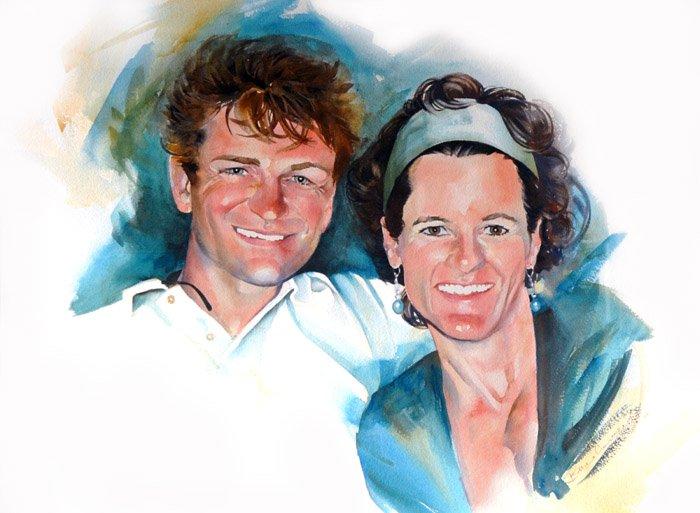 Todd and Paula