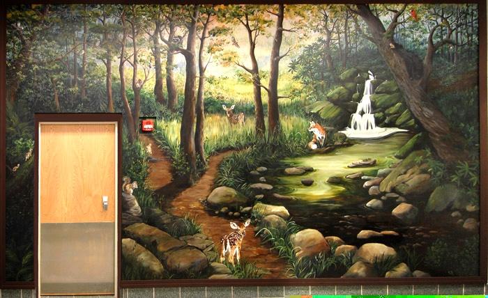 Smoky Mountain Mural, Memorial for Channon Christian