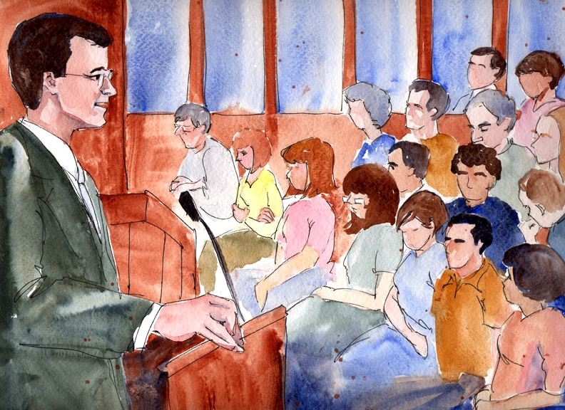 Wade Davies, Kernell defense attorney