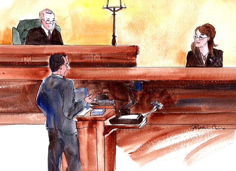 U.S. District Judge Phillips presiding