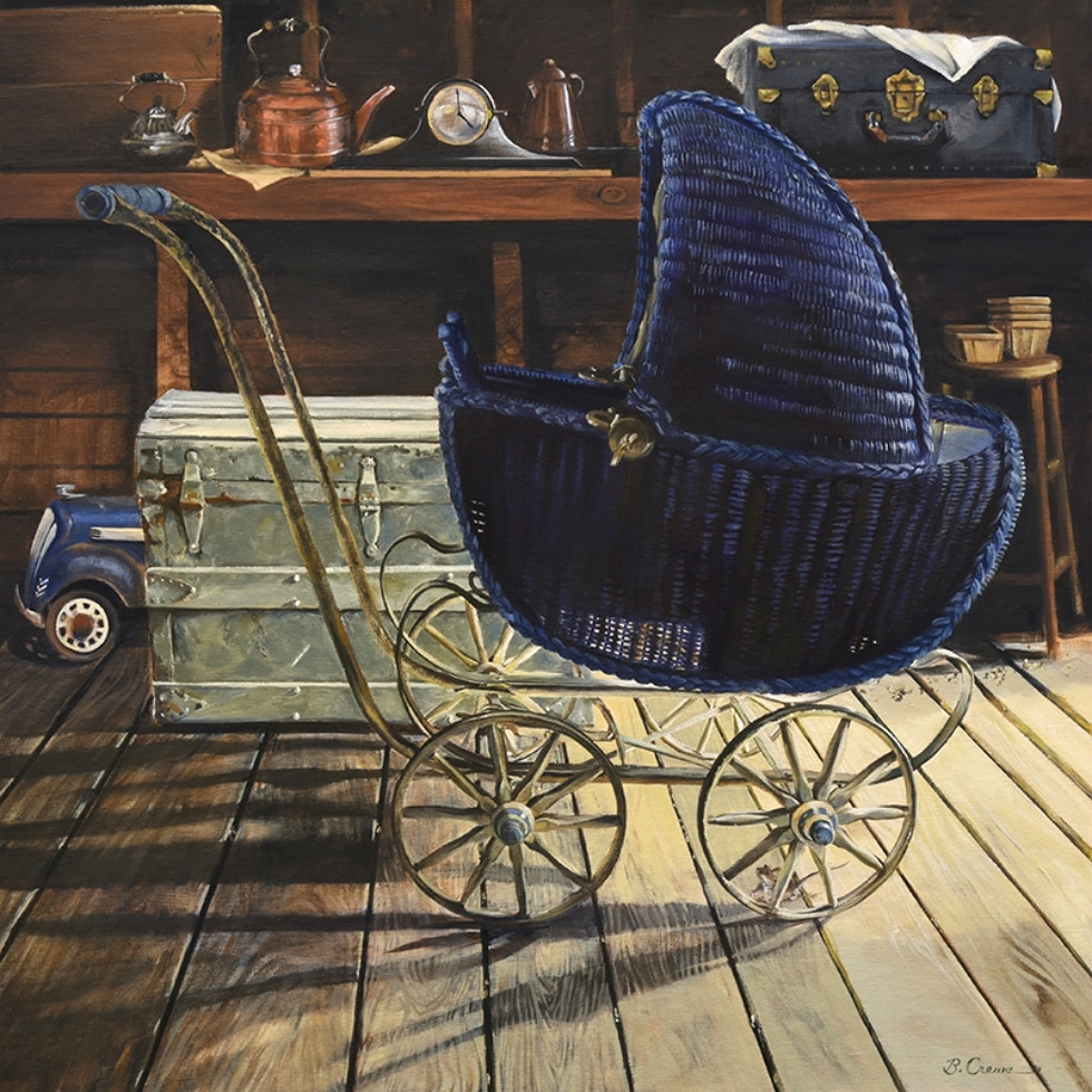 Blue Bonnet Buggy